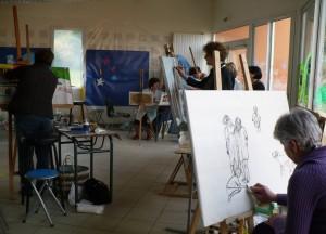 Les ateliers artistiques de Campagn'ART