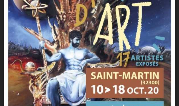 18 EME salon d'ART                       10 AU 18 OCTOBRE 2020